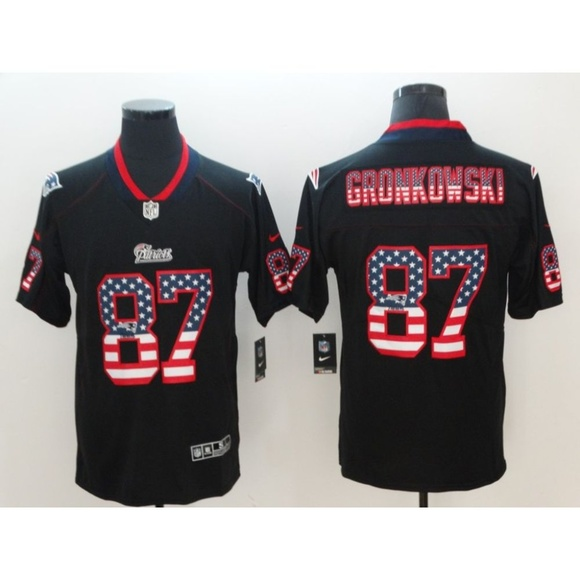hot sales 8cd65 9d37d New England Patriots Rob Gronkowski Jersey
